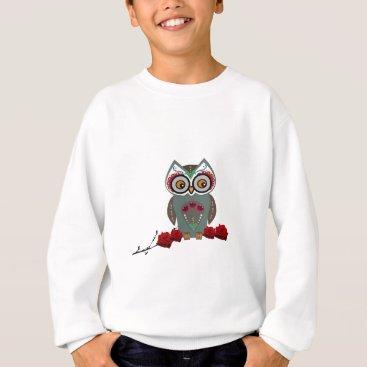 Halloween Themed Sugar Owl Sweatshirt
