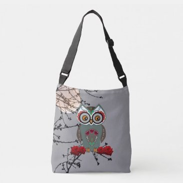 Halloween Themed Sugar Owl Tote Bag