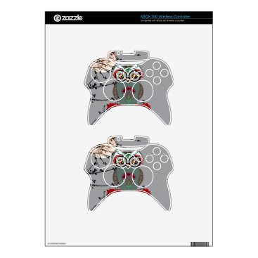 Halloween Themed Sugar Owl Xbox 360 Controller Skins