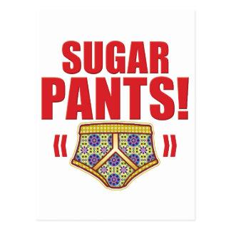 Sugar Pants Flowery Post Cards