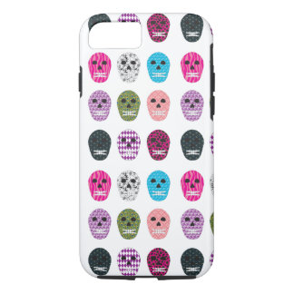 Sugar Pattern Skulls iPhone 7 Case