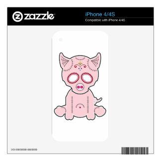 Sugar Piggie Series Skins For iPhone 4
