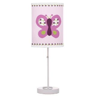purple butterfly table pendant lamps zazzle. Black Bedroom Furniture Sets. Home Design Ideas