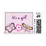 Sugar Plum Butterfly Custom Postage Stamps
