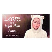 Sugar Plum Fairies Card