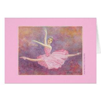 Sugar Plum Fairy Greeting Card (customizable)