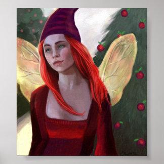 Sugar Plum Fairy Poster of Painting
