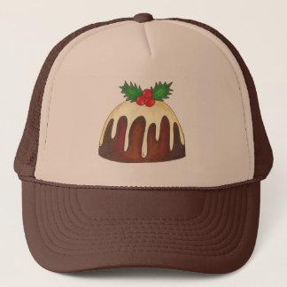 Sugar Plum Pudding Christmas Xmas Holiday Hat