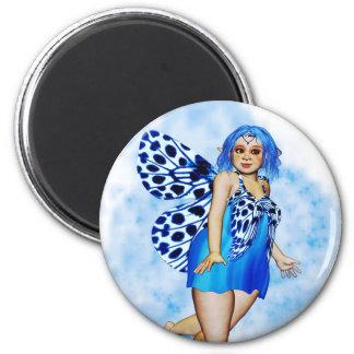 Sugar Plump Fairies - Blueberry Ripple Fridge Magnets