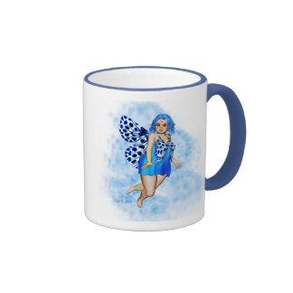Sugar Plump Fairies - Blueberry Ripple Mug