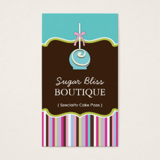Sugar Pops Business Cards