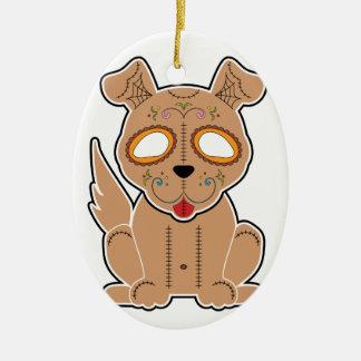 Sugar Puppy Series Ceramic Ornament