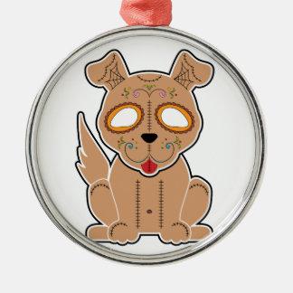 Sugar Puppy Series Metal Ornament