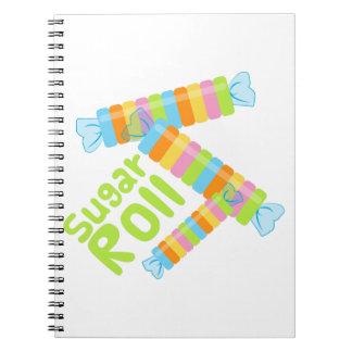 Sugar Roll Notebooks