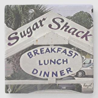 Sugar Shack, Tybee Island Marble Coaster