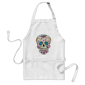 Sugar Skull Adult Apron