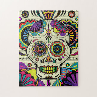 Sugar Skull Art / Day of the Dead puzzle