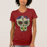 Sugar Skull Art - Day of the Dead shirt