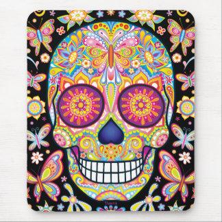 Sugar Skull Art Mousepad Day of the Dead