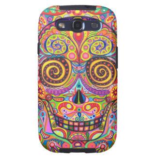 Sugar Skull Art Samsung Galaxy S3 Vibe Case Galaxy S3 Covers