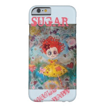Halloween Themed Sugar Skull Baby Barely There iPhone 6 Case