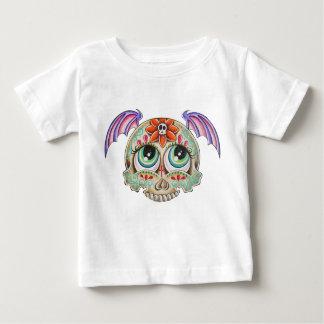 Sugar skull bat infant t-shirt
