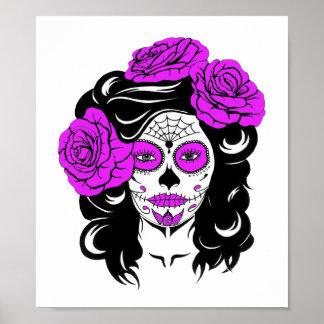 Sugar Skull Beauty Poster