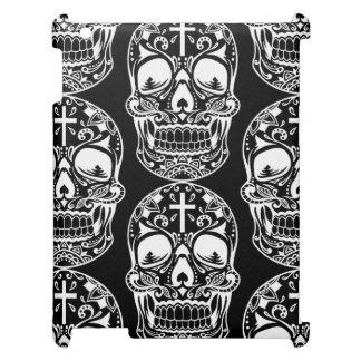 Sugar Skull Black.png iPad Covers