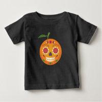 Sugar Skull Black Toddler T-Shirt