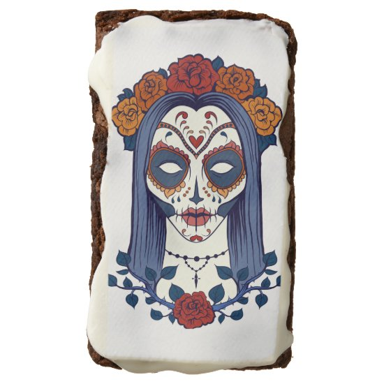 Sugar Skull Bride, Day of the Dead, Brownies