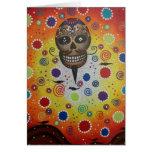 Sugar Skull By Lori Everett Card