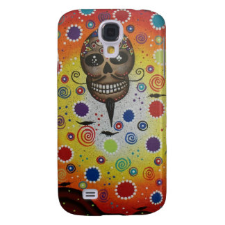 Sugar Skull By Lori Everett Samsung Galaxy S4 Cover