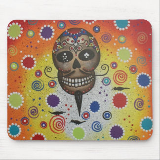 Sugar Skull By Lori Everett Mouse Pad