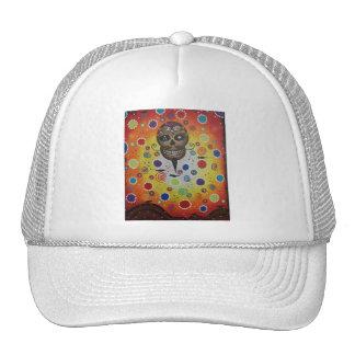 Sugar Skull By Lori Everett Trucker Hat