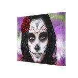 Sugar Skull - by Morgan Designs Gallery Wrap Canvas