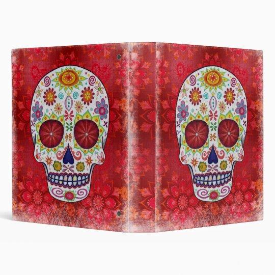 Sugar Skull Calavera Binder