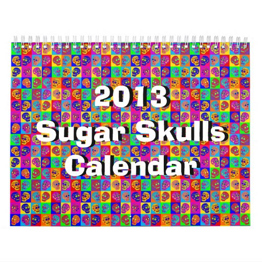 Sugar Skull Calendar