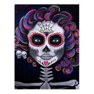 Sugar Skull Candy 2 Postcard