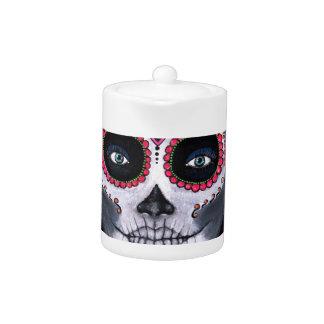 Sugar Skull Candy 2 Teapot