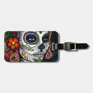 Sugar Skull Candy Bag Tag