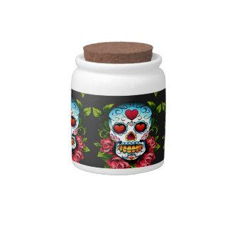 Sugar Skull Candy Jar
