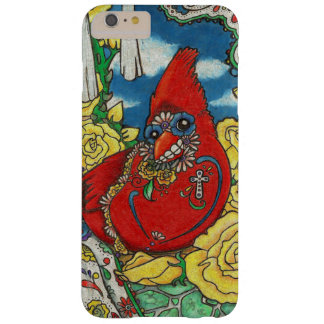Sugar Skull Cardinal Barely There iPhone 6 Plus Case