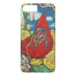 Sugar Skull Cardinal iPhone 7 Plus Case