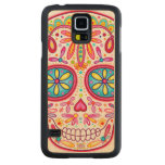 Sugar Skull Carved® Maple Galaxy S5 Case