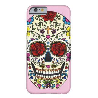 sugar skull barely there iPhone 6 case