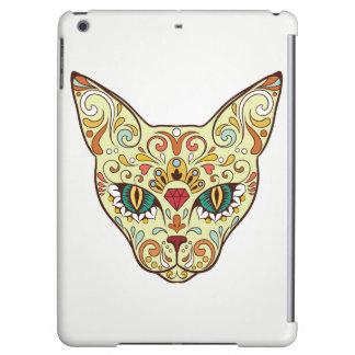 Sugar Skull Cat iPad Air Case