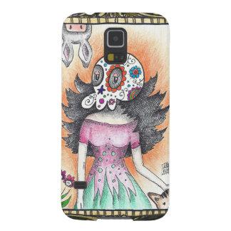 Sugar Skull Catrina Galaxy S5 Case