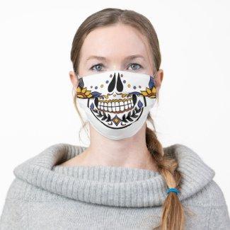 Sugar Skull Cloth Face Mask