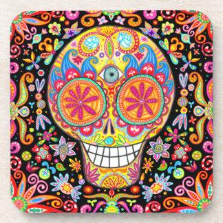 Sugar Skull Coaster Set of 6