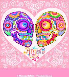 Day Of The Dead Canvas Art   Prints  8d9ce8855eba0
